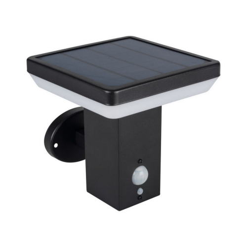 Solární LED svítidlo Kanlux SOLCA L PV EL-B s pohybovým čidlem 25774