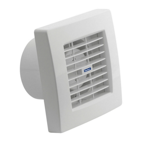 Koupelnový ventilátor Kanlux TWISTER AOL120B s automatickou žaluzií 70956