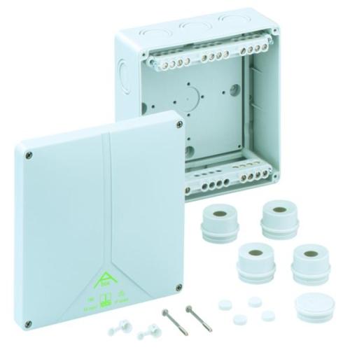 Krabice Spelsberg Abox 160-16 IP65 180x180x91mm se svorkovnicemi 5P (4x6/4x10/4x16mm2)