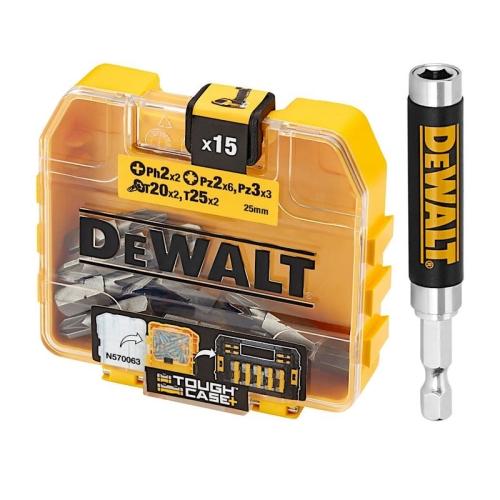 Sada bitů DeWALT DT71511 16dílná