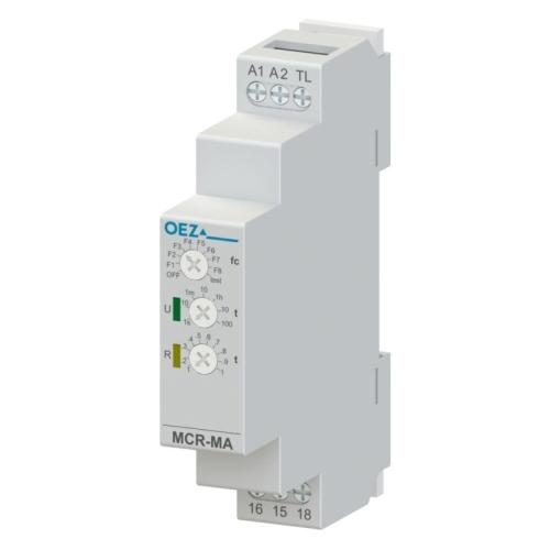 Časové relé multifunkční OEZ MCR-MA-001-UNI 1CO 8A