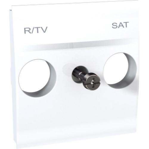Schneider Unica centrální deska pro antenní zásuvku TV/R-SAT polar MGU9.441.18
