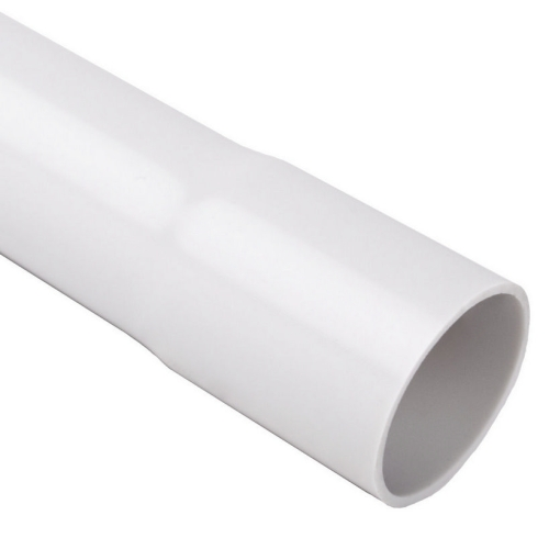 Plastová trubka pevná KOPOS 1520 KC 20mm světle šedá 2m