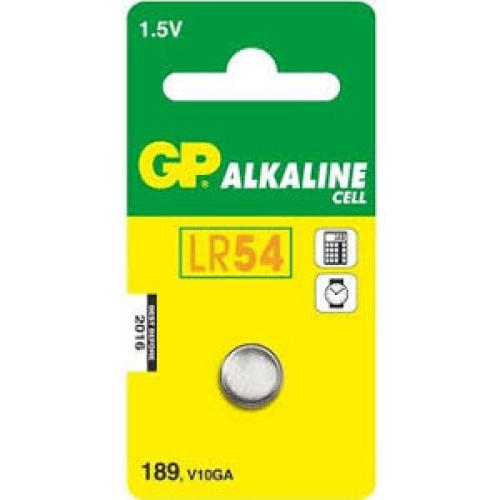 Knoflíková baterie GP LR54 AG10 189 alkalická 1ks 1041018911