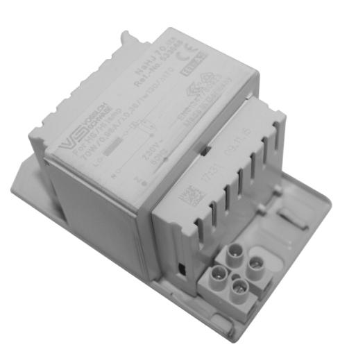 Elektromagnetická tlumivka Vossloh-Schwabe NaHJ 70.128 pro výbojky 70W