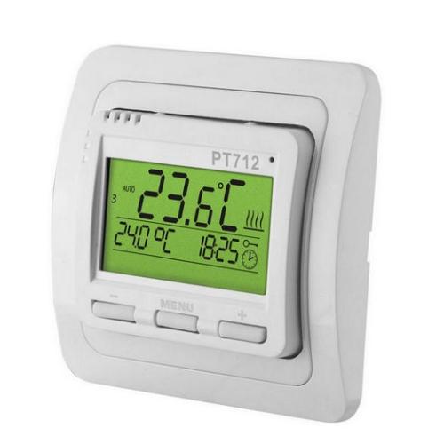 Pokojový digitální termostat ELEKTROBOCK PT712 pro podlahové vytápění