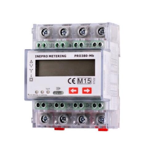 Elektroměr PRO380-MB 0,25-100A 3F 2-sazbový M-BUS CZ CEJCH
