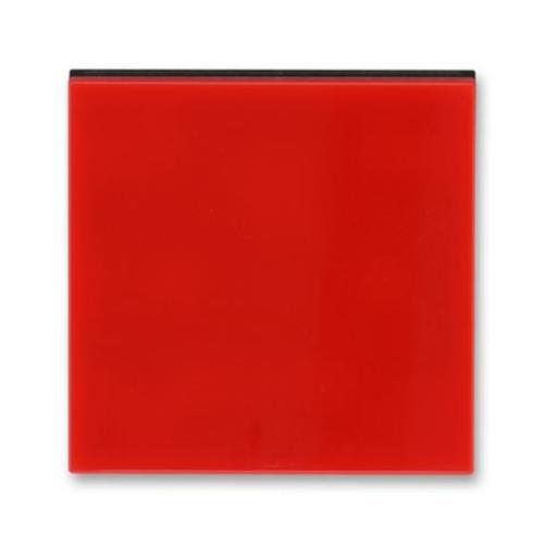 ABB Levit kryt vypínače červená/kouřová černá 3559H-A00651 65