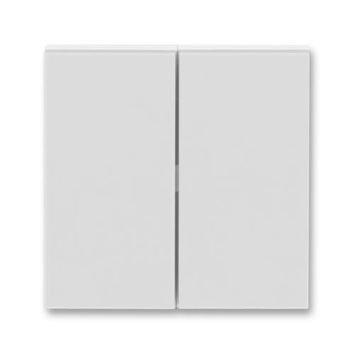 ABB Levit kryt vypínače dělený šedá/bílá 3559H-A00652 16