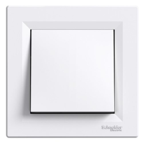 Schneider Asfora tlačítko 1/0 bílá EPH0800321 šroubové