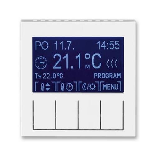 ABB Levit termostat pokojový programovatelný bílá/ledová bílá 3292H-A10301 01