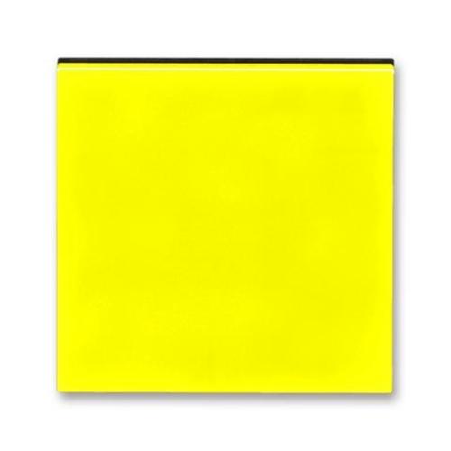ABB Levit kryt vypínače žlutá/kouřová černá 3559H-A00651 64