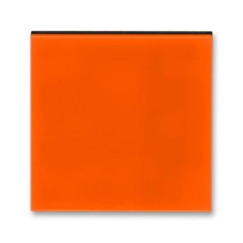 ABB Levit kryt vypínače oranžová/kouřová černá 3559H-A00651 66