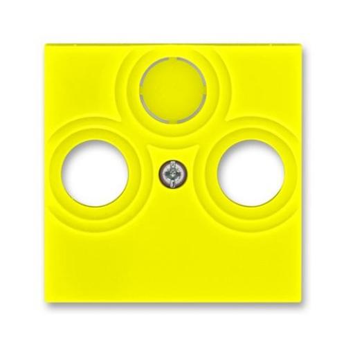 ABB Levit kryt zásuvky televizní žlutá 5011H-A00300 64