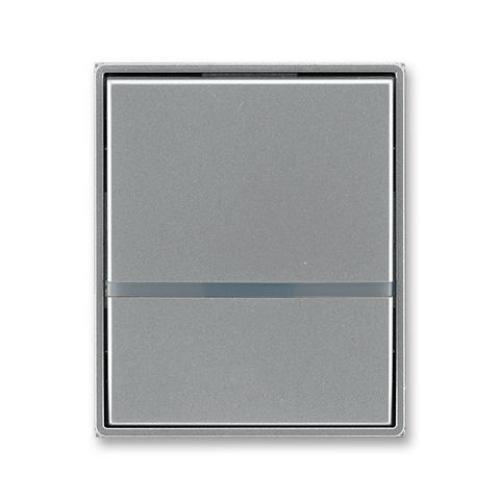 ABB Element,Time kryt vypínače s čirým průzorem ocelová 3558E-A00653 36