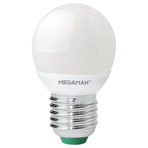 LED žárovka E27 Megaman P45 3,5W (25W) teplá bílá (2800K)