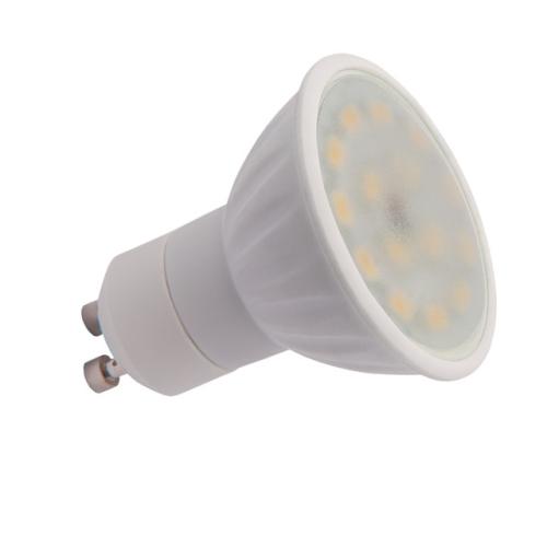 LED žárovka GU10 Kanlux 5W (33W) teplá bílá (2700-3200K), reflektor 120° 22202