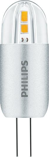 LED žárovka G4 Philips LV 2W (20W) teplá bílá (3000K)12V