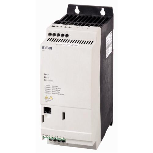Frekvenční měnič EATON DE1-348D5FN-N20N 3x400/3x400VAC 4kW 8,5A IP20 RFI filtr 174338