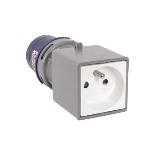 Adaptér domovní vidlice / CEE zásuvka Famatel 139101 230V/16A IP40