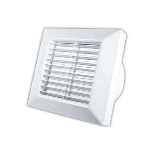 Koupelnový ventilátor s automatickou žaluzií a časovým doběhem DOSPEL PRIMO base 100 AT