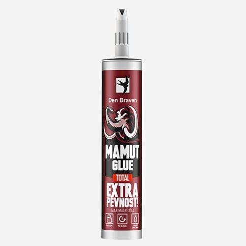 Den Braven lepidlo MAMUT GLUE TOTAL 290ml bílý 51920BD