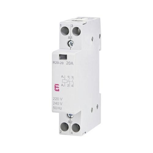 Instalační stykač ETI R 20-20 230V 20A 2NO 002461210