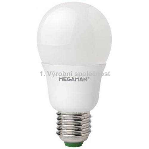 LED žárovka E27 Megaman A60 9,5W (60W) neutrální bílá (4000K)