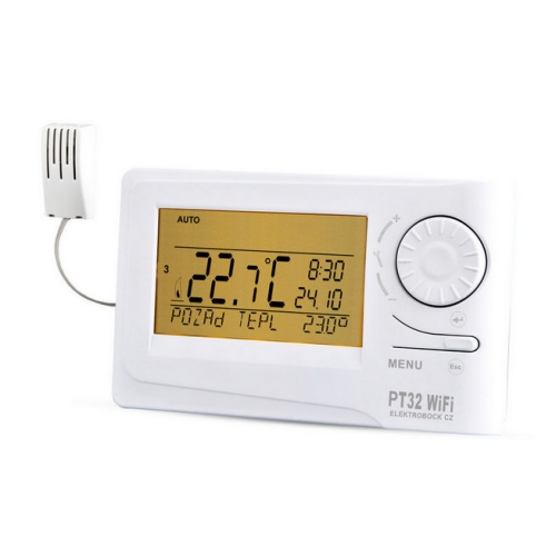 Chytrý termostat ELEKTROBOCK PT32 WiFi