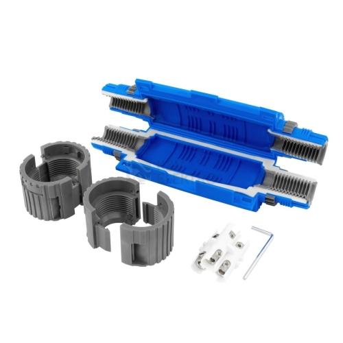 Kabelová spojka gelová SHARK 6801C se svorkovnicí 3x(1,5-6mm2) pro Cu/Al