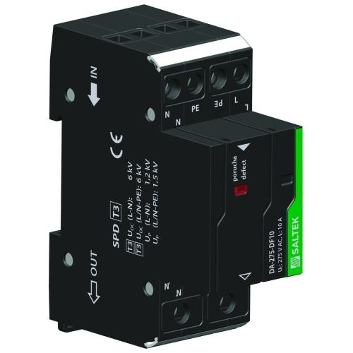 Přepěťová ochrana DA-275 DF10 s vf filtrem, 230V/10A