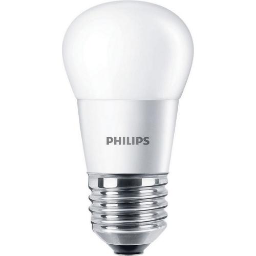 LED žárovka E27 Philips P45 FR 4W (25W) teplá bílá (2700K)