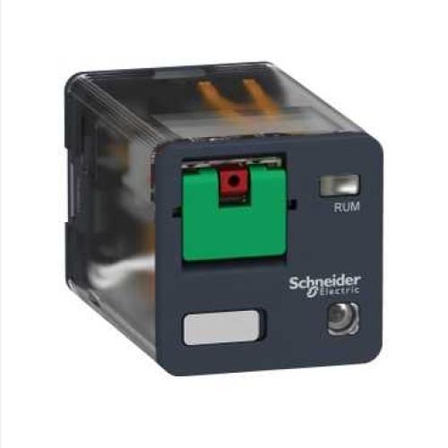 Spínací relé paticové Schneider 230VAC/10A s LED RUMC32P7