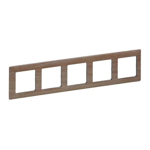 Legrand Valena LIFE pětirámeček světlé dřevo 754185