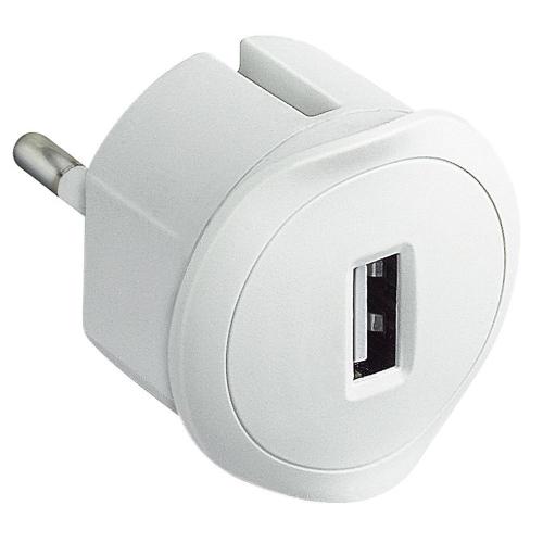 Legrand nabíječka USB adaptér 1,5A 50680 230/5V bílá