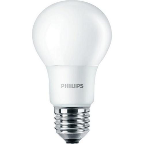 LED žárovka E27 Philips A60 8W (60W) teplá bílá (2700K)