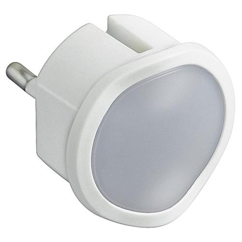 Svítidlo orientační/noční Legrand 50678 do zásuvky 0,06W bílá s nouz. funkcí