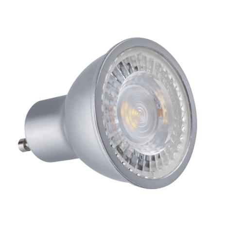 LED žárovka GU10 Kanlux 7,5W (45W) studená bílá (6500K) stmívatelná, reflektor 120° 24662