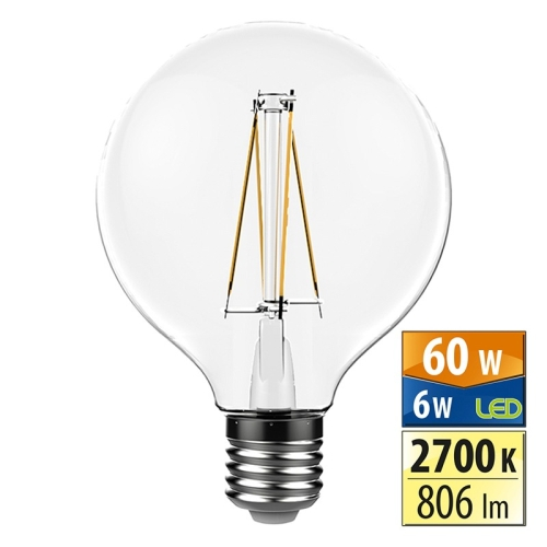 LED žárovka E27 McLED 6W (60W) teplá bílá (2700K) ML-322.003.94.0