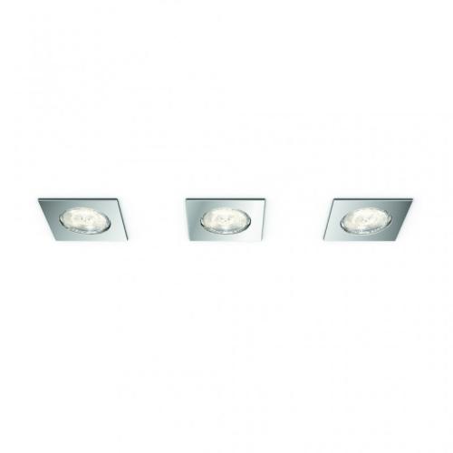 Koupelnová podhledová LED svítidla (set 3 ks) Philips Dreaminess 59007/11/P0 3x4,5W/500lm 2700K teplá bílá