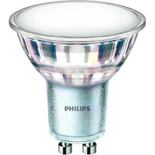 LED žárovka GU10 Philips CLA MV 5W (50W) studená bílá (6500K), reflektor 120°