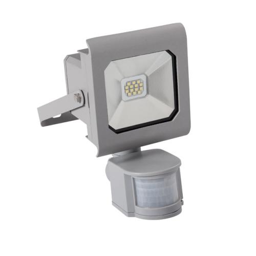 LED reflektor Kanlux ANTRA 10W 750lm 4000K neutrální bílá s čidlem IP44 25580