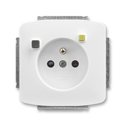ABB Tango zásuvka s proudovým chráničem FI-DOS bílá SRCD 5526A-A02369 B