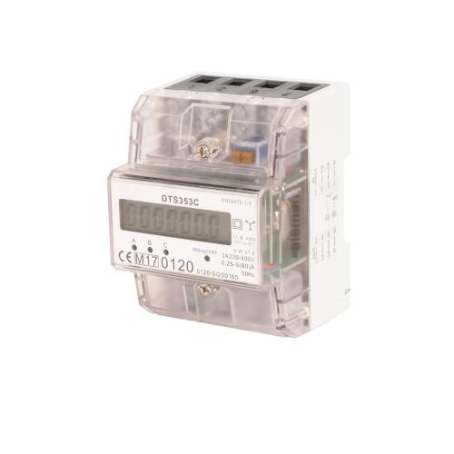 Elektroměr DTS353C 80A MID, 4,5mod., LCD, 3F., 1tarif
