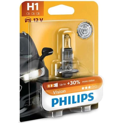 Autožárovka Philips Vision 12258PRB1 H1 P14,5s 12V 55W