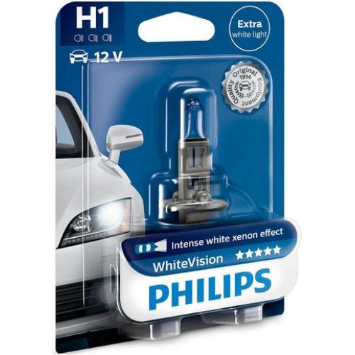 Autožárovka Philips WhiteVision 12258WHVB1 H1 P14,5S 12V 55W