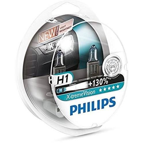 Autožárovky Philips X-tremeVision H1 12258XV+S2 55W 12V P14,5s (v balení 2ks)