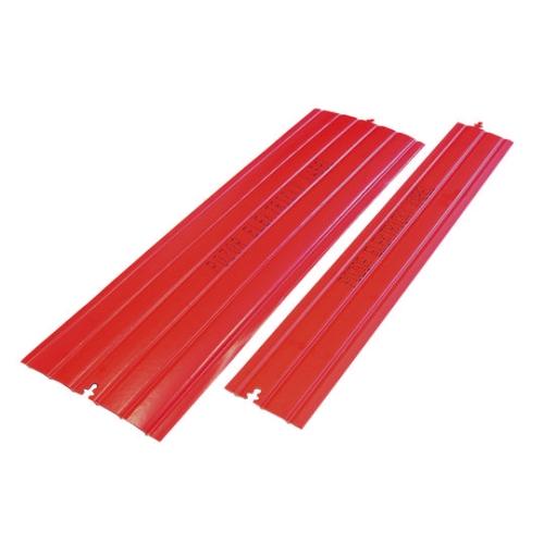 Krycí deska kabelu KD200 červená