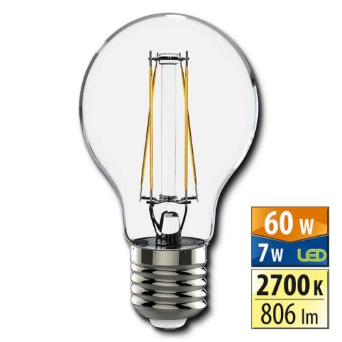 LED žárovka E27 McLED 7W (60W) teplá bílá (2700K) ML-321.082.94.0