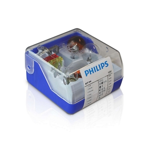 Sada autožárovek Philips Single Kit H4 55005SKKM P43t-38 12V 60/55W